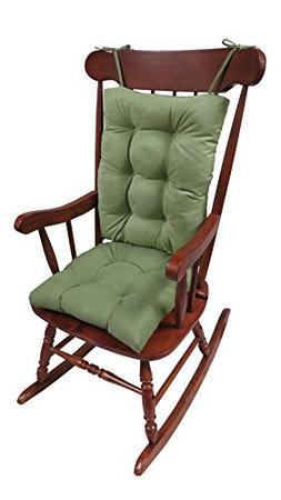 Klear Vu The Gripper Non-Slip Rocking Chair Cushion Set Hone