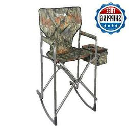 Outdoor Rocking Chair Folding Resistant Steal Frame Patio Ca