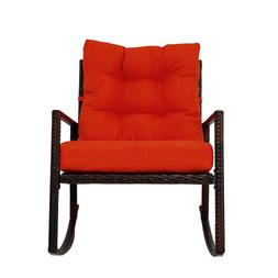 outdoor wicker rattan rocking chair patio furniture