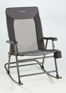 Oversized Folding Rocking Chair, 400lbs Camping Rocker Outdo