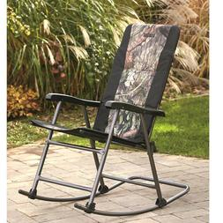 Guide Gear Oversized Rocking Camp Chair, 500 lb. Capacity, M