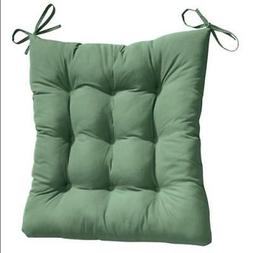 2PC. PADDED ROCKING CHAIR CUSHION SET - HUNTER GREEN