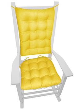 Porch Rocker Cushions - Rave Yellow Gold - Size Extra-Large