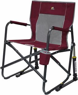 portable outdoor rocking chair camping folding patio