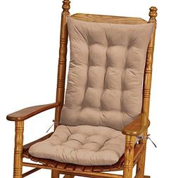 Collections Etc Quilted Rocking Chair Cushion Set Replacemen