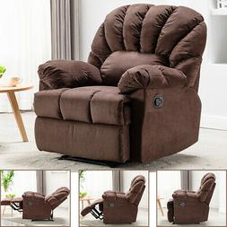 recliner chair rocking chair fabric modern cushion
