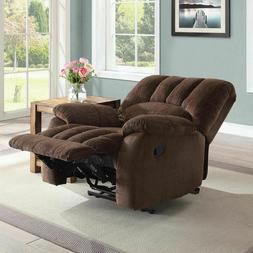 Recliner Rocking Chair Small Sleeper Sofa Upholstery Fabric
