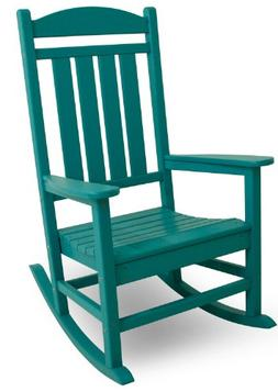 POLYWOOD; Recycled Plastic Presidential Rocking Chair