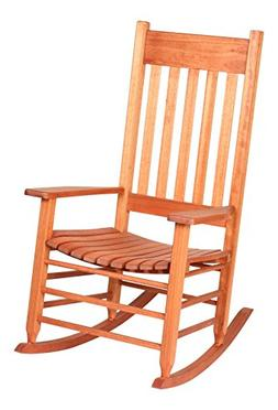 Hinkle Chair Company Red Grandis Style Rocking Chair