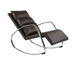Relax Lounger Rocking Chair Armchair Relaxing TV Swinging Br