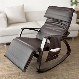 Haotian New Relax Rocking Chair Lounge Chair with Adjustable