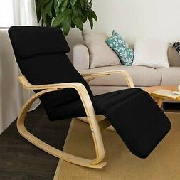 Haotian Relax Rocking Chair with Foot Rest Design, Lounge Ch