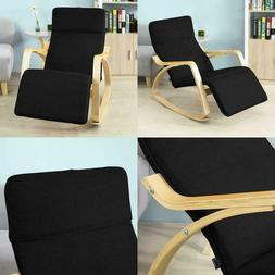 Haotian Relax Rocking Chair with Foot Rest Design Lounge Cha