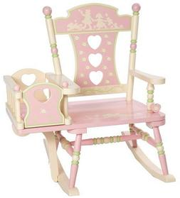 Wildkin Rock-A-My-Baby Rocking Chair, Features Attached Crad