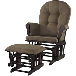 Rocker Glider Chair And Ottoman Microfiber Baby Nursery Furn