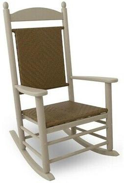 POLYWOOD Rocking Chair 300 lb. Weight Capacity Weather Resis