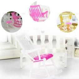 Rocking Chair Accessories Kids Role Play Furniture Dolls Hou