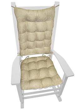 Rocking Chair Cushions - Microsuede Chamois Mushroom - Extra