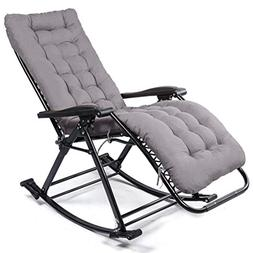 Rocking chair folding angle adjustable load capacity 150 kg