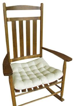 Barnett Rocking Chair Seat Cushion w/Ties - Natural Unbleach