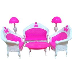 Rocking Chair Sofa Accessories Plastic Furniture Sets For Do