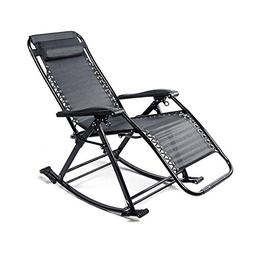 Rocking Chair Adult Lazy Napping Chair Deck Chair Balcony Mu