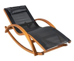 rocking lounge chair outdoor patio leisure chair