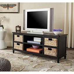 Safavieh American Homes Collection Rooney Distressed Black E
