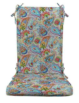 RSH Décor Indoor Outdoor Foam Rocker Rocking Chair Pad Cush