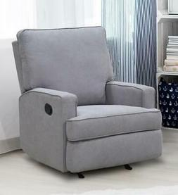 Baby Relax Salma Rocking Recliner Chair, Gray