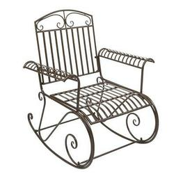 In/Outdoor Rocking Chair Armchair Lounge Chairs Leisure Rela