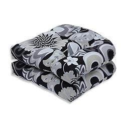 Sophia Graphite Wicker Seat Cushion