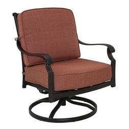 Darlee St. Cruz Patio Rocking Chair in Antique Bronze