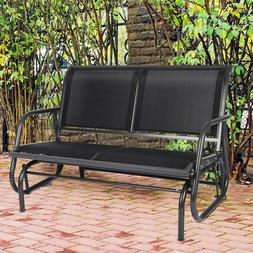 Livebest Swing Glider Bench Double Seat Rocking Chair Porch