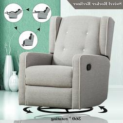 swivel recliner chair modern rocking chair baby