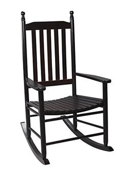 Gift Mark 3400E Adult Tall Back Rocking Chair, Espresso