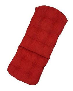 Thick Cushion for Rattan Wicker Swivel Rocking Chair Red Col
