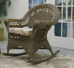 Tiffany Wicker Rocker ONLY no End Table