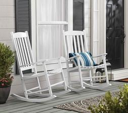 Outdoor/Indoor Wood Rocking Chair Porch  or Patio Chair