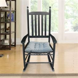 Wooden Rocking Chair Porch Rocker High Back Garden Seat Indo