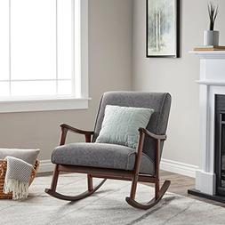 Wooden Rocking Chair Provides Elegant Style and Function. Pa