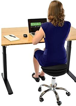 Uncaged Ergonomics  WOBBLE STOOL AIR Rolling Adjustable Heig