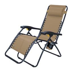 GCI Outdoor Zero Gravity Lounger Portable Lawn and Patio Cha